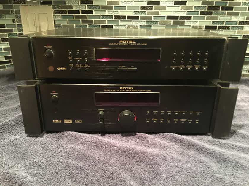 Rotel RSP-1066 pre/processer and RT-1080 tuner