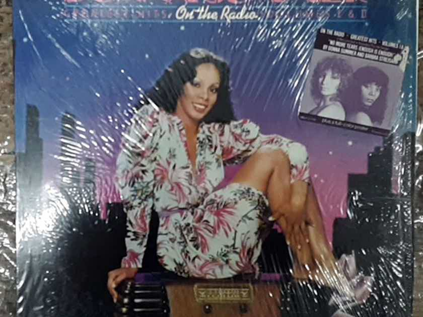 Donna Summer On The Radio - Greatest Hits Vol. I & II 1979 NM Double LP Vinyl Casablanca Records  NBLP-2-7191