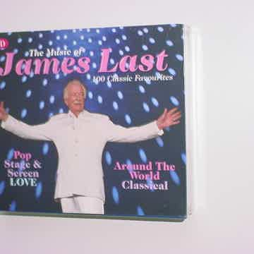 Sealed THE Music of James LAST 5 CD SET 100 classic favourites 2010 Spectrum music