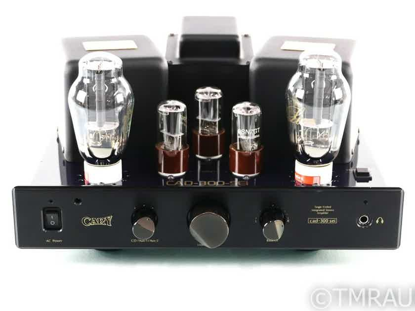 Cary CAD-300 SEI Stereo Tube Integrated Amplifier; CAD300SEI; Remote; New Tubes (29532)
