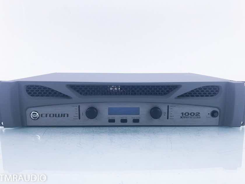 Crown XTi 1002 Stereo Power Amplifier XTi2 Series (16172)