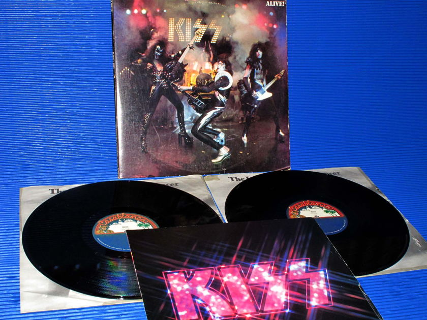 "KISS  - ""Alive"" - Casablanca 1975 Original w/Booklet 2 LP's"