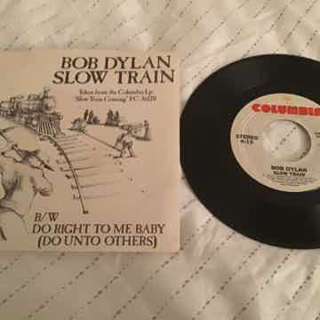 Bob Dylan Slow Train Coming Promo 45 With Picture Sleev...