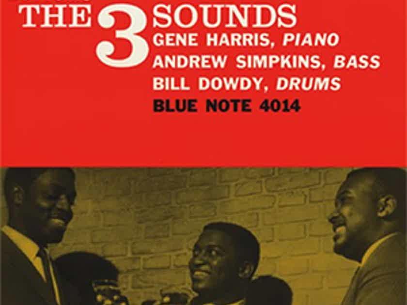 The 3 Sounds, Harris Simpkins, Dowdy-Bottoms UP 2LPs 45rpm