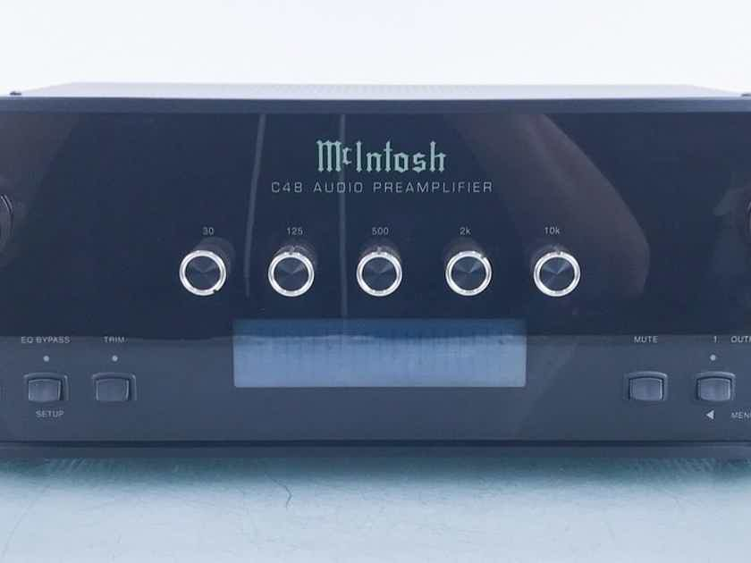 McIntosh C48 Stereo Preamplifier Remote; MM/MC Phono (16834)