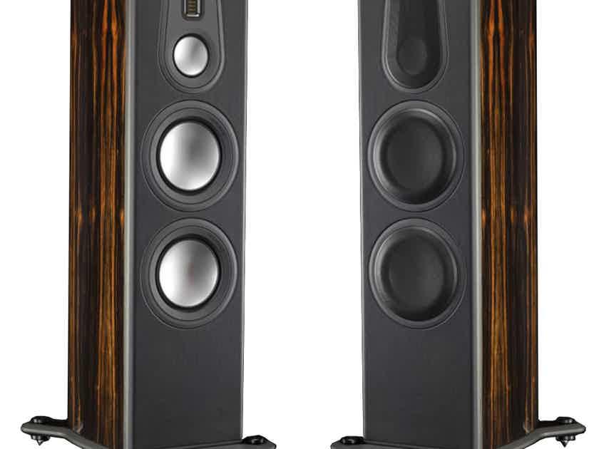 Monitor Audio Platinum PL300-II Floorstanding Speakers (Ebony); Open Box/Demo; Stereophile 2017 EC Winner; 1 Yr. Wrnty; 33% Off
