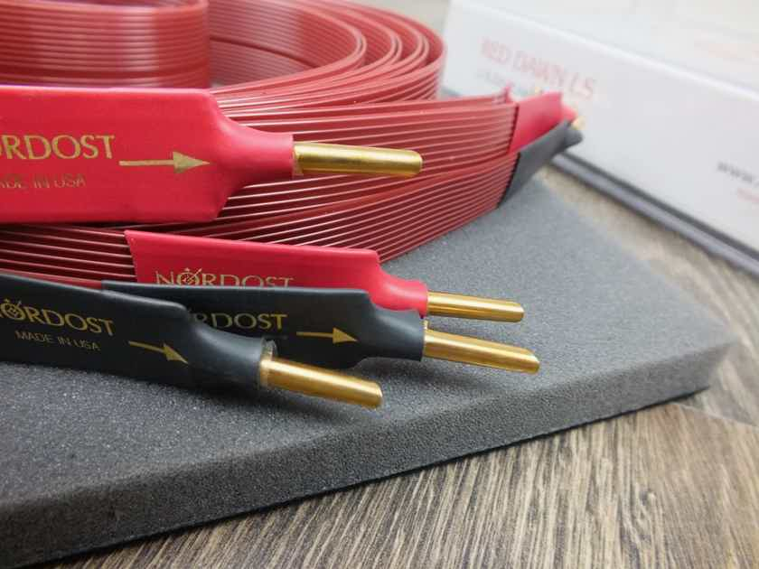 Nordost Leif Red Dawn speaker cables 3,0 metre BRAND NEW