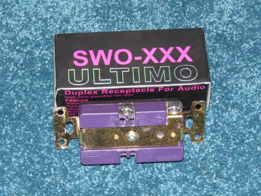 Oyaide SWO-XXX-ULTIMO AC Receptacle