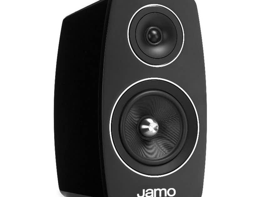 Jamo C103 flagship Concert Series Gloss Black Bookshelf Speakers