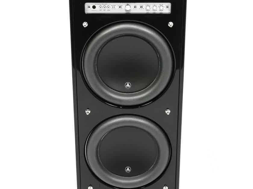"JL Audio Fathom F212 Dual 12"" Powered Subwoofer; Gloss Black; F-212 (1/2) (28693)"