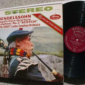 Stereo Mendelssohn Fingals cave overture