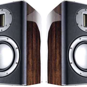 Series 1 Bookshelf Speakers (Ebony):