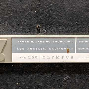 JBL SR8 Olympus C50