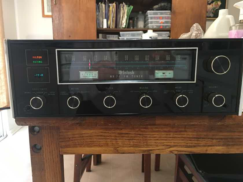 McIntosh MR-78 PRISTINE CONDTION