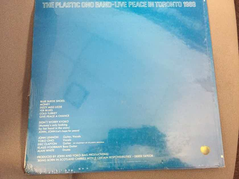 The Plastic Ono Band - Live Peace In Toronto 1969 Apple Records Sealed Vinyl  LP With Calendar