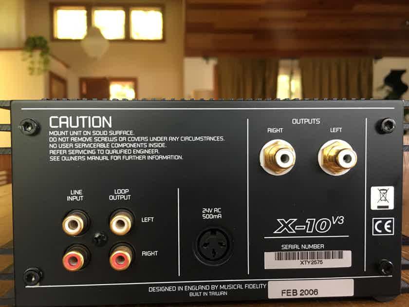 Musical Fidelity X-Can v3, Musical Fidelity X-10 V3, Musical Fidelity XPSU V3