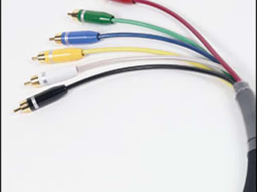 Harmonic Technology Harmony Rainbow 6 channel analog interconnects w/RCA