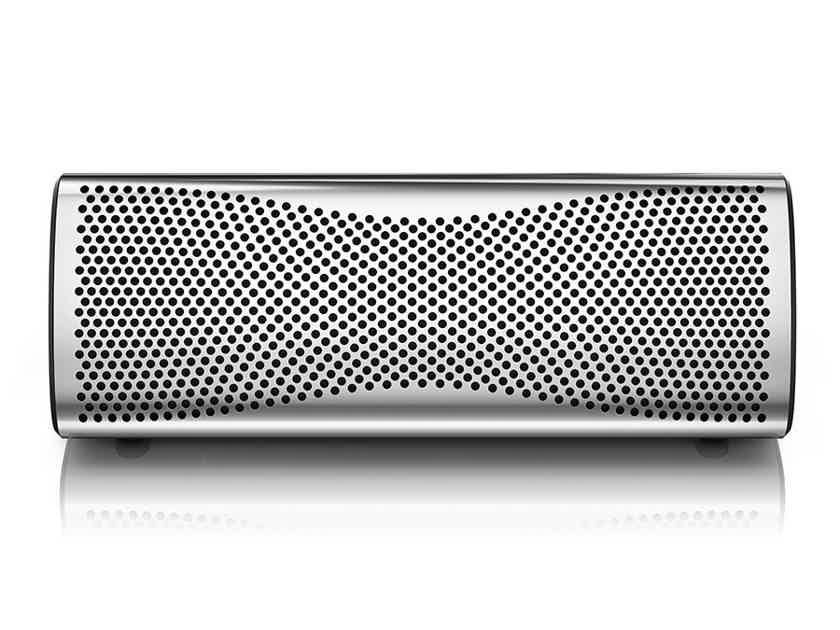 Kef Muo Portable Bluetooth Speaker; Silver (New) (22859)