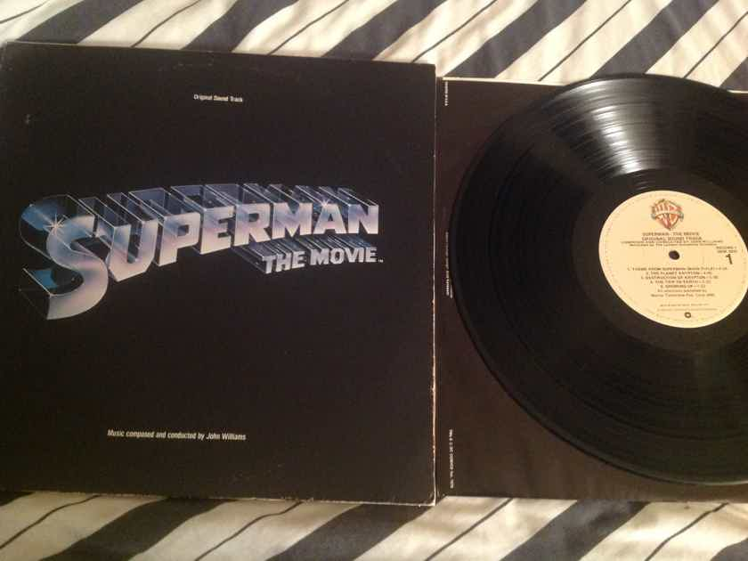 John Williams  Superman The Movie 2LP Promo Stamp Back Cover