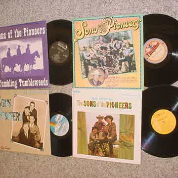 lot of 4 lp records