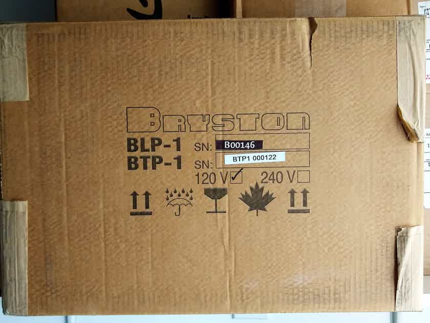 Bryston BLP-1 w/ Dynavector 20X2L - 45% off Brand New in the Box A Steal!