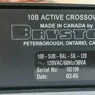 Bryston 10B Sub