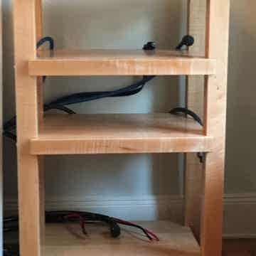 TimberNation Custom 4 Shelf Audio Rack / Stand