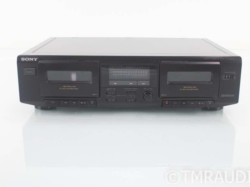 Sony TC-WE305 Dual Stereo Cassette Deck; Tape Recorder; TCWE305 (18761)