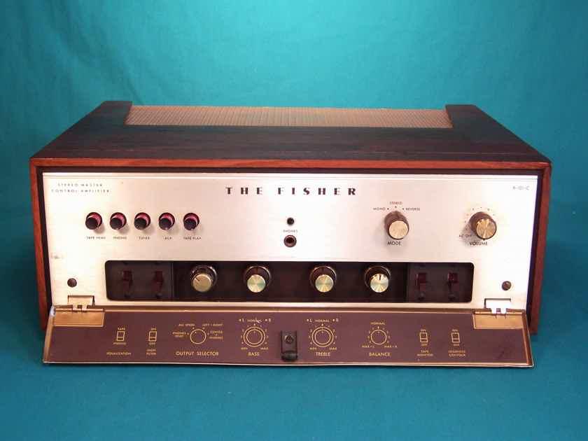 Fisher X 101 C 30wpc Tube Stereo Master Control Amplifier