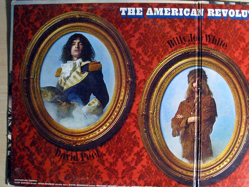 David Peel & The Lower East Side - The American Revolution - 1970  Elektra EKS-74069