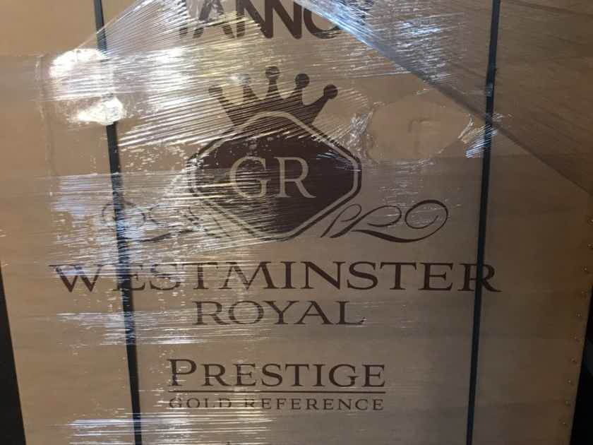 Tannoy Westminster Royal GR Brand New-Free shipping