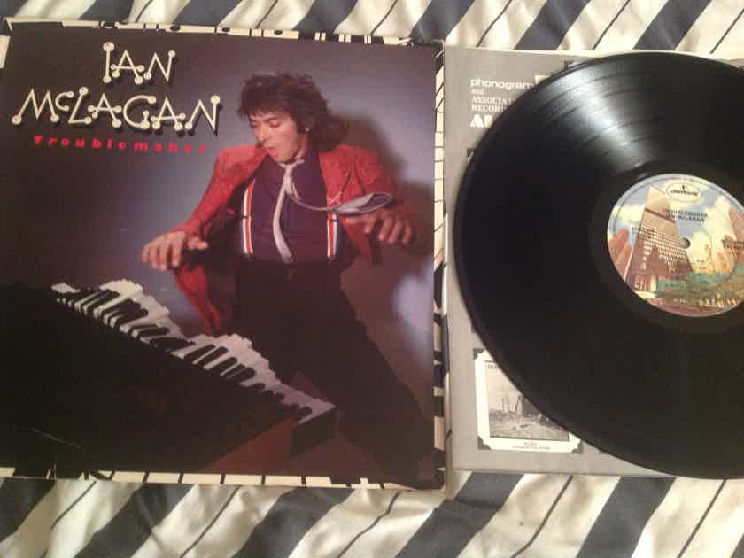 Ian McLagan Troublemaker With Ron Wood Promo Stamp Back Cover