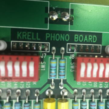 Krell KPE phono card