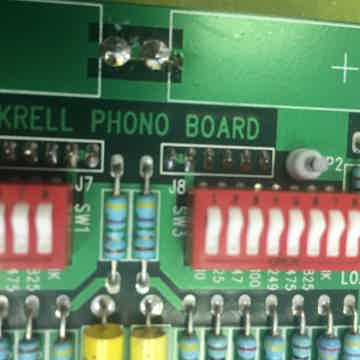 Krell KPE phono card