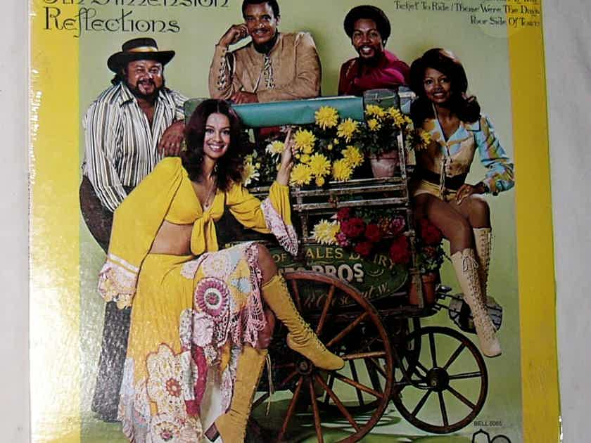 THE 5TH DIMENSION LP-- - REFLECTIONS--rare SEALED 1971 album on Bell Records