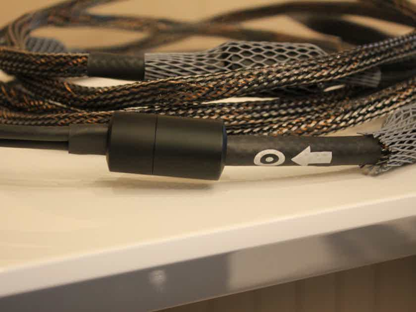 Ansuz - Diamond Speaker Cables - 4 Meter Length - Bananas On Both Ends - Amazing Cables!!!