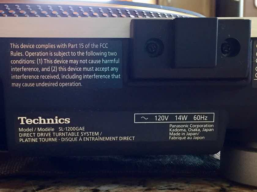 Technics SL-1200GAE Limited Edition