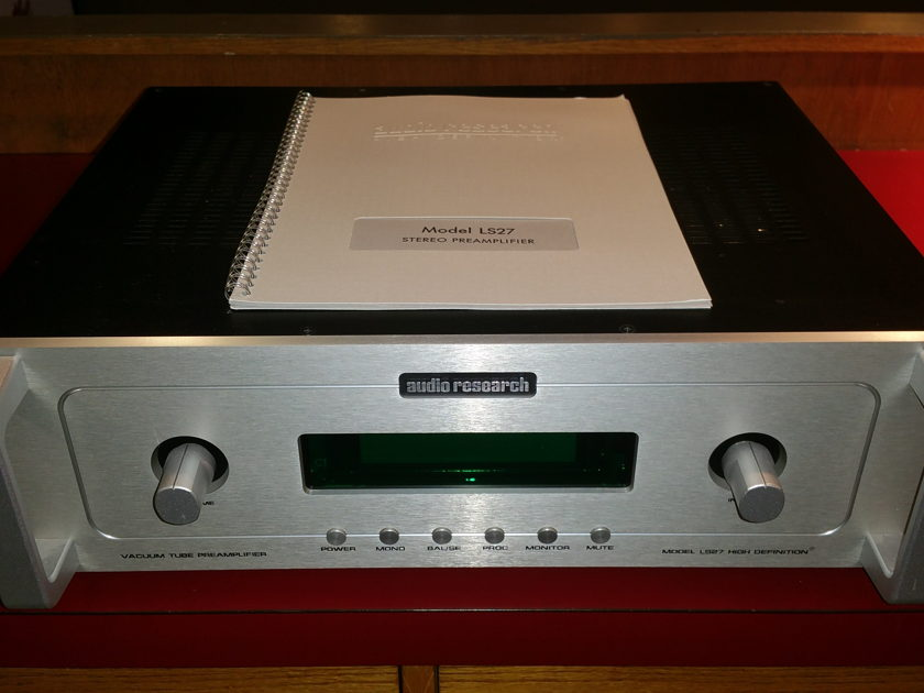 Audio Research LS27 Tube Preamp