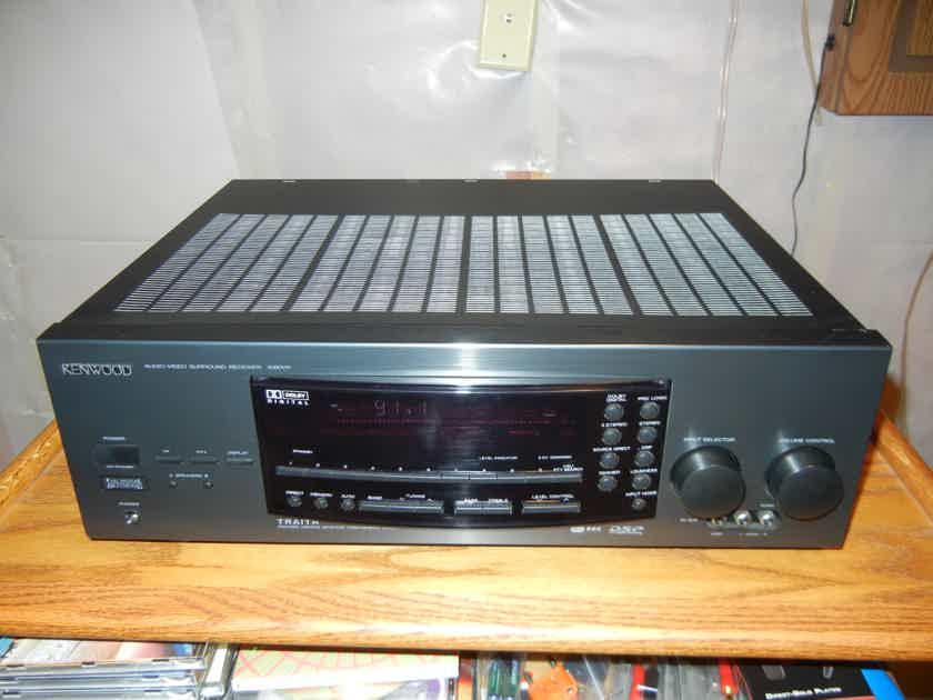 Kenwood 1080VR AV Receiver 120wpc w\phono EXCELLENT!