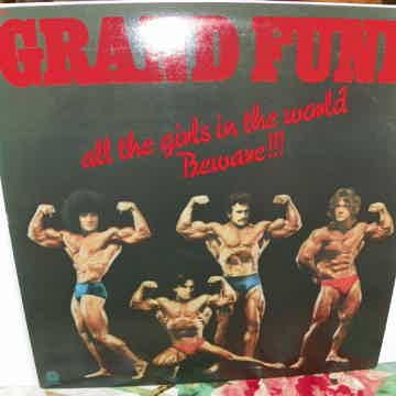 GRAND FUNK - ALL THE GIRLS IN THE WORLD BEWARE 1ST EDITION