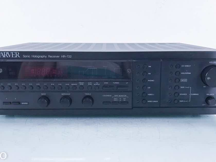Carver HR-722 Vintage Sonic Holography Receiver (Tuner Issues) (14237)