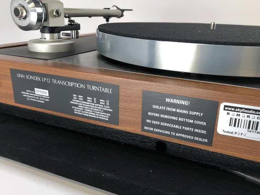 Linn LP12 Transcription Turntable with Upgrades and New Sumiko Cartridge