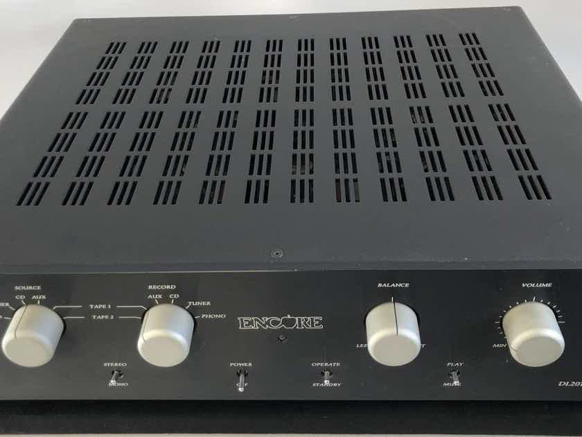 Encore DL2010.2 Tube Preamplifier with Phono Section - Rare and Near Mint