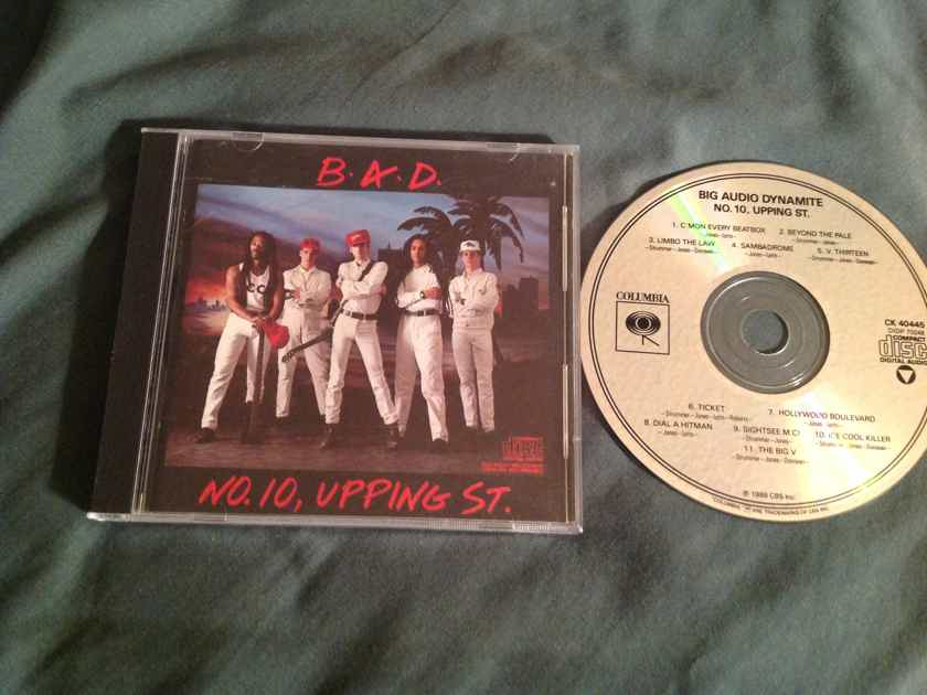 Big Audio Dynamite  No. 10,Upping St.Not Remastered Compact Disc