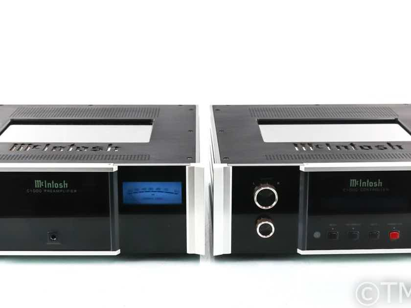 McIntosh C1000 Stereo Solid State Preamplifier; Controller; C1000P; C1000 (29054)