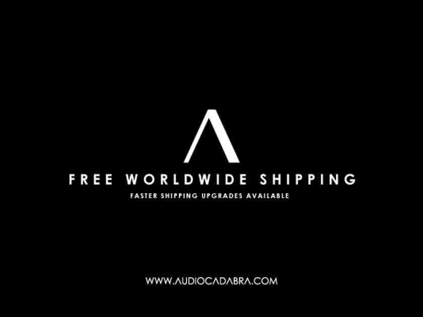 Audiocadabra Ultimus3™ Plus Solid-Silver Dual-Headed USB Cables (New 22 AWG Design)