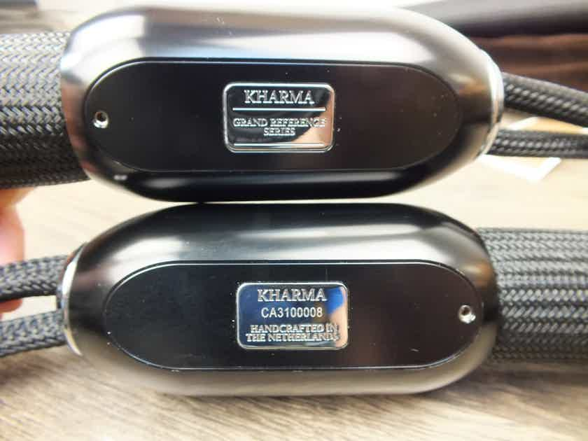 Kharma Grand Reference silver speaker cables 2,0 metre