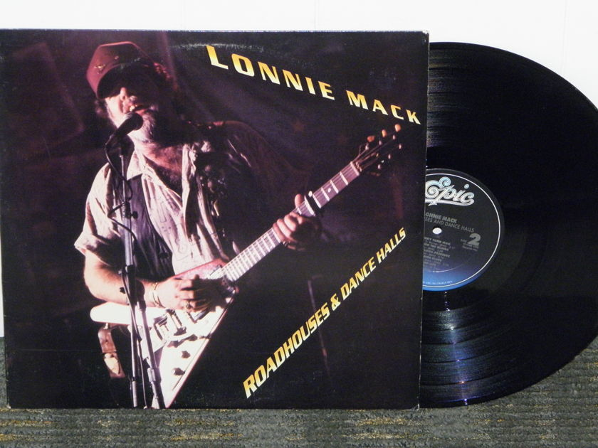 Lonnie Mack - Roadhouses& Dance Halls Epic 44075 GOLD PROMO STAMP