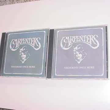 The Carpenters double cd  - yesterday once more disc 1 ...