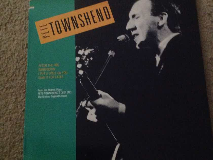 Pete Townshend - Pete Townshend's Deep End Atco Records 12 Inch Vinyl  EP NM